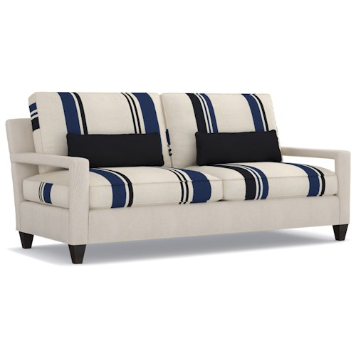 Cynthia Rowley for Hooker Furniture Cynthia Rowley - Sporty Upholstery Varick 2 over 2 Sofa