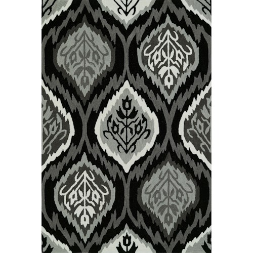Dalyn Aloft Black 9'X13' Rug