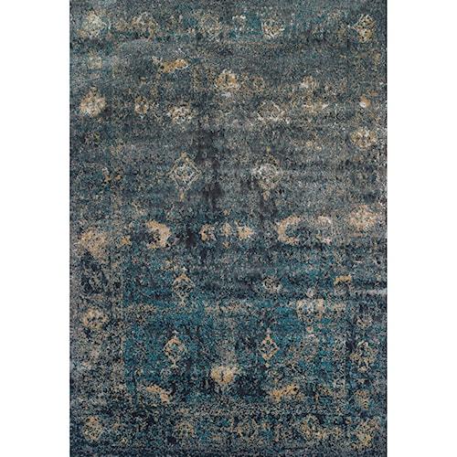 Dalyn Antiquity Charcoal 5'3