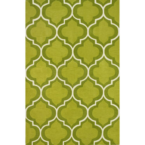 Dalyn Infinity Lime 5'X7'6