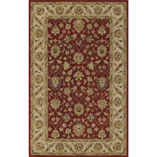 Dalyn Jewel Salsa/Ivory 8'X10' Rug