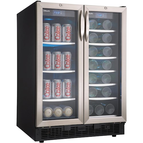 Danby Wine Coolers and Beverage Centers 5 Cu. Ft. Beverage Center with 60 Beverage Cans Capacity