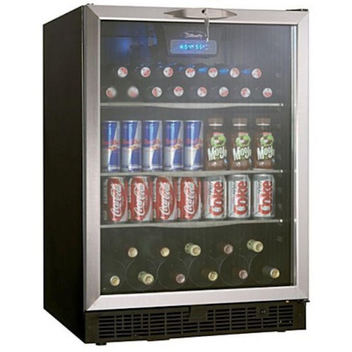 Danby Wine Coolers and Beverage Centers 5.3 Cu. Ft. Beverage Center with 112 Beverage Can Capacity