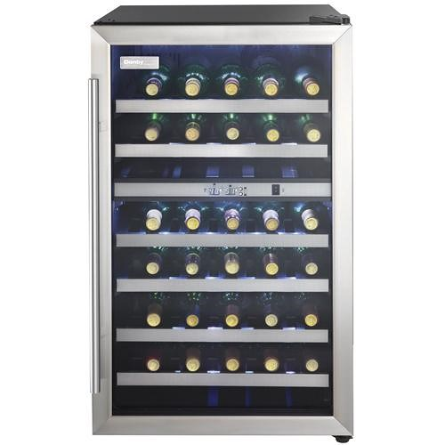 Danby Wine Coolers and Beverage Centers 4.0 Cu. Ft. Designer Series Wine Cooler with 38 Bottle Capacity and Dual Temperature Storage