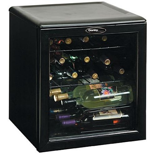 Danby Wine Coolers and Beverage Centers 1.8 Cu. Ft. Designer Series Wine Cooler with 17 Bottle Capacity