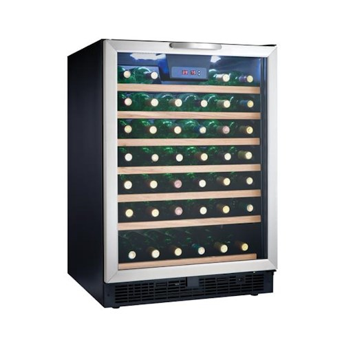 Danby Wine Coolers and Beverage Centers 5.3 Cu. Ft. Designer Series Wine Cooler with 50 Bottle Capacity