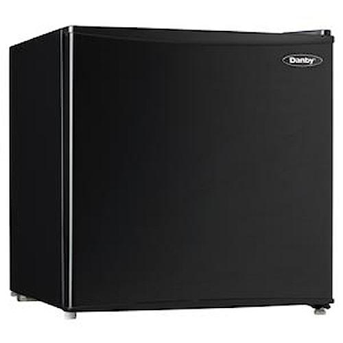 Danby Compact Refrigerators 1.6 Cu. Ft. Compact Refrigerator with Freezer