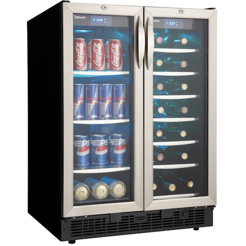 Danby Silhouette 5.0 Cu. Ft. Silhouette Series Beverage Center with 60 Can Capacity