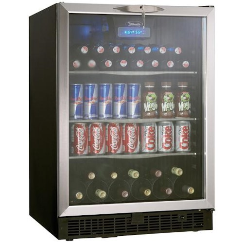 Danby Silhouette 5.3 Cu. Ft. Silhouette Series Beverage Center with 112 Beverage Can Capacity