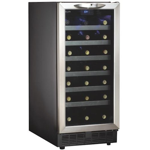 Danby Silhouette 3.3 Cu. Ft. Silhouette Series Wine Cooler with 34 Bottle Capacity