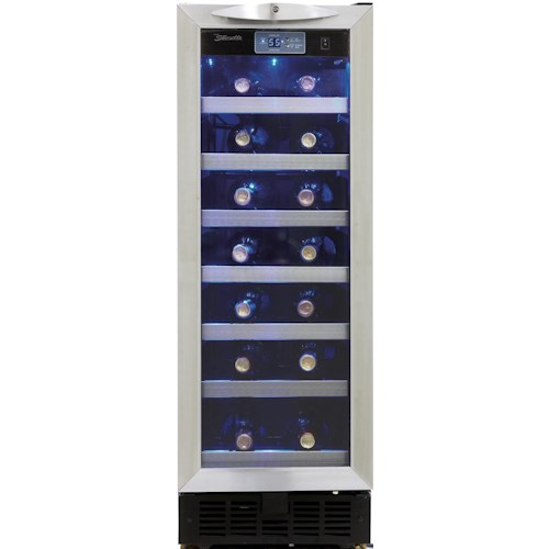 Danby Silhouette 2.5 Cu. Ft. Silhouette Series Wine Cooler with 27 Bottle Capacity
