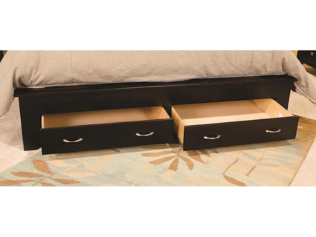 Footboard Storage Drawers