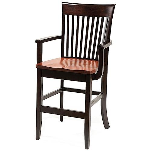 Daniel's Amish Carleton Arm Chair 30