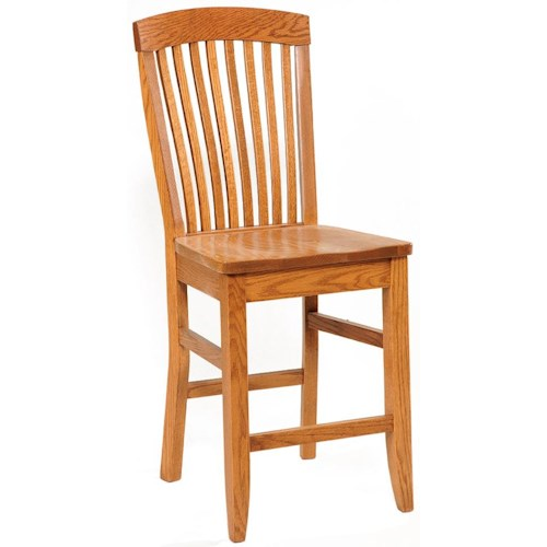 Daniel's Amish Shaker Side Chair 30