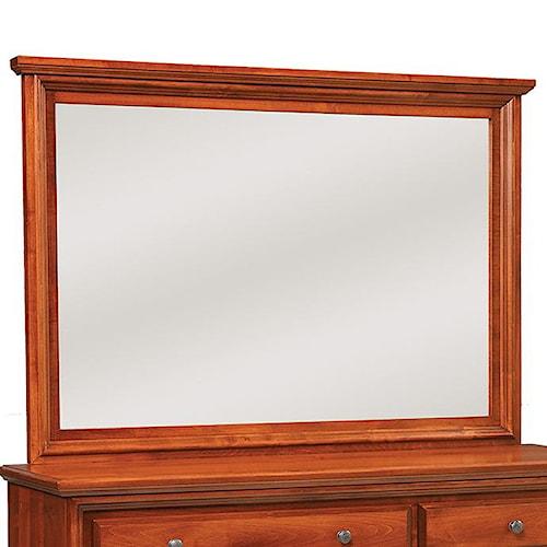 Daniel's Amish Classic Landscape Dresser Mirror