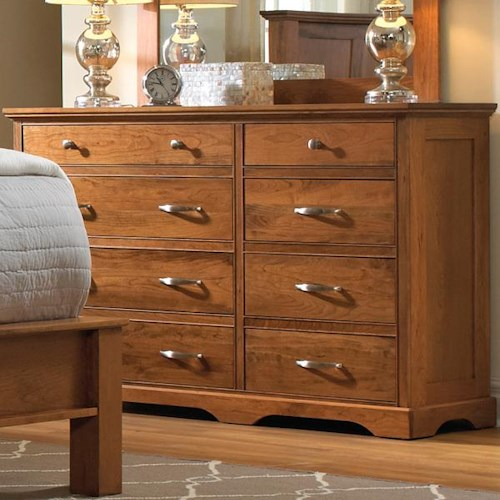 Daniel's Amish Elegance 8 Drawer Dresser