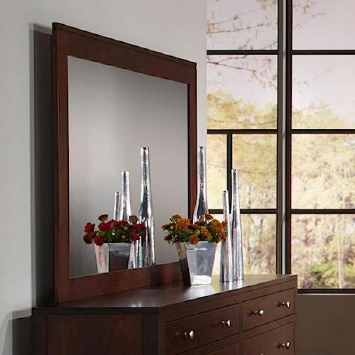 Daniel's Amish Modern Dresser Mirror