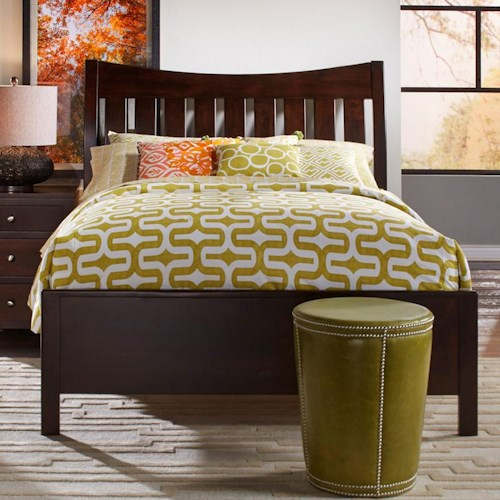 Daniel's Amish Bedfort Solid Wood King Bed