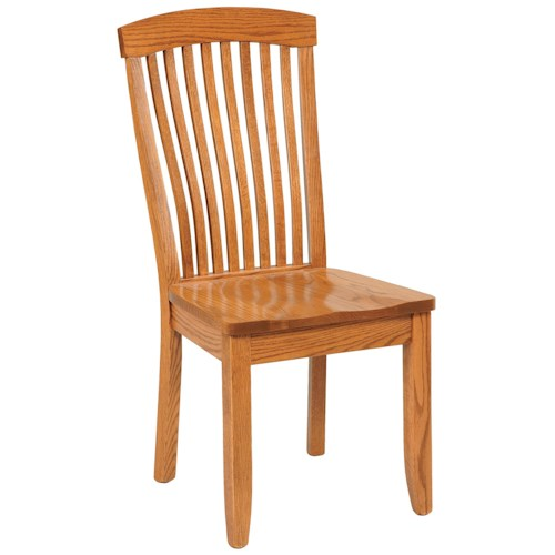 Daniel's Amish Chairs and Barstools Empire Dining Side Chair