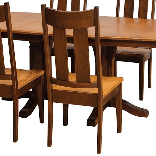 Daniel s amish chairs and barstools tampa side chair h l