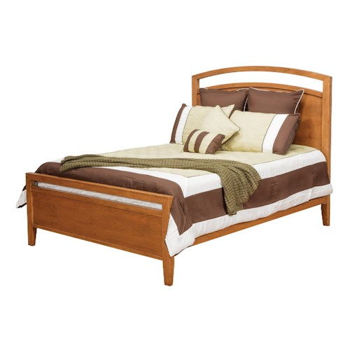 Daniel's Amish Nouveau Queen Nouveau Low Profile Bed