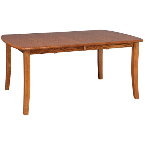Daniel's Amish Tables Solid Wood Rectangular Table