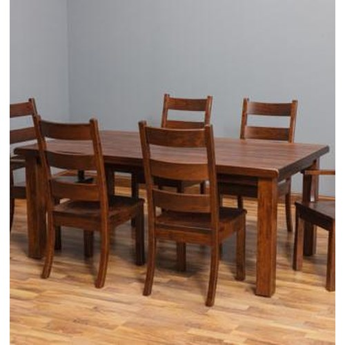 Amish Dining Room Table: Daniel's Amish Westchester DA Dining Table With
