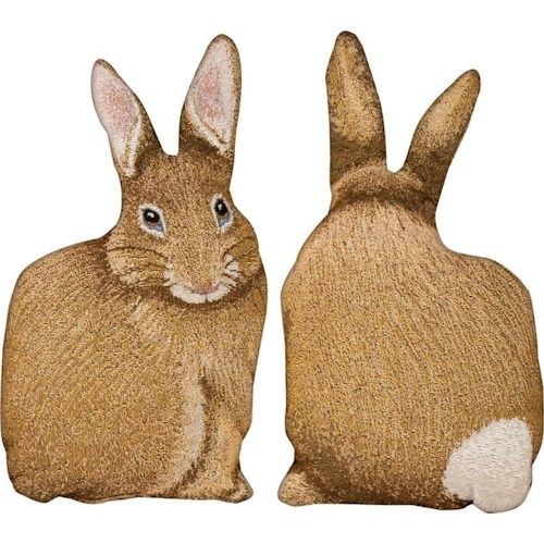 Rotmans Choice Accessories Cotton Tail Shaped Pillow