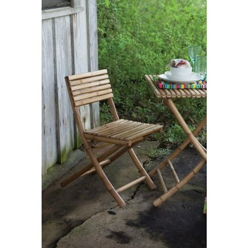 Rotmans Choice Accessories Bamboo Folding Chair