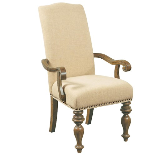 Belfort Select Virginia Mill Upholstered Arm Chair