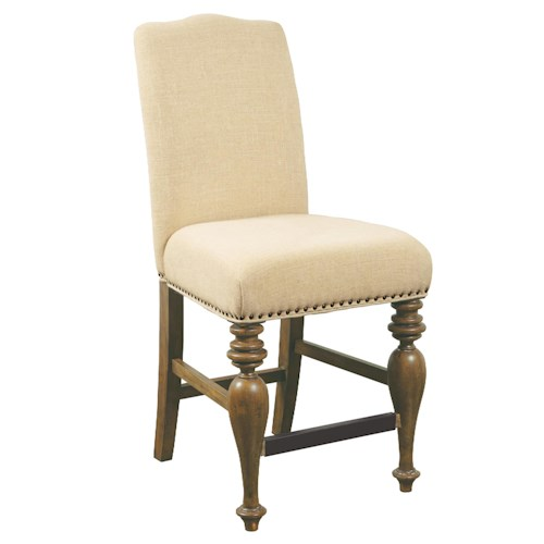 Belfort Select Virginia Mill Upholstered Back Gathering Chair