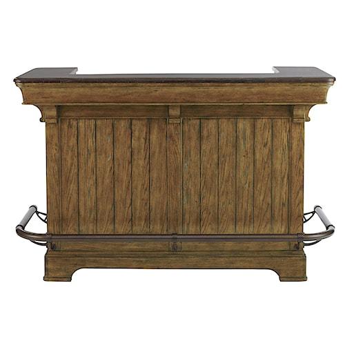Belfort Select Virginia Mill Traditional Bar w/ Locking Door