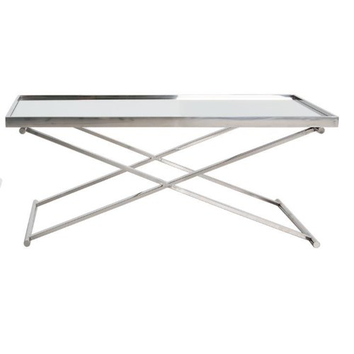 Decor-Rest Boulevard Mirrored Coffee Table
