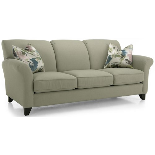 Decor-Rest 2263 Contemporary Stationary Sofa