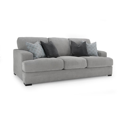 Decor-Rest 2344 Casual Sofa with Wide Track Arms