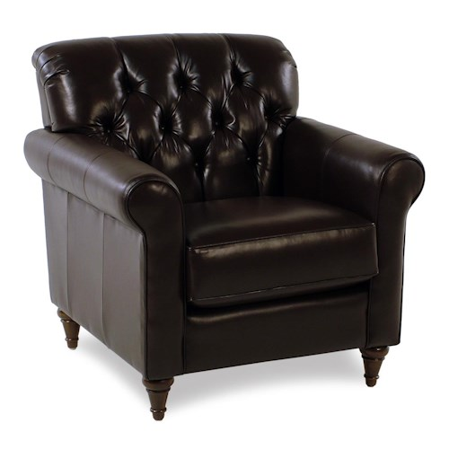 Decor-Rest Maxwell Tufted Leather Chair