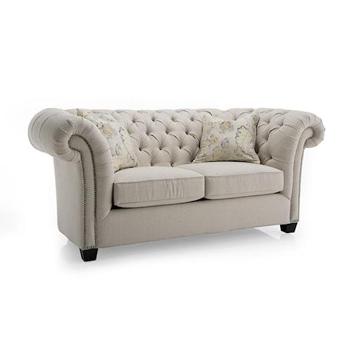 Decor-Rest Churchill Upholstered Loveseat