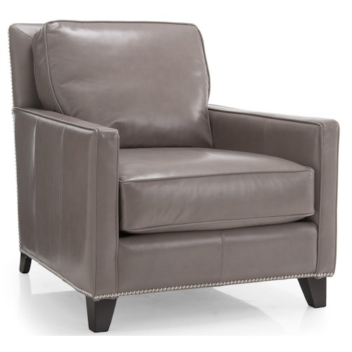 Decor-Rest 7333 Upholstered Chair w/ Pillow Back