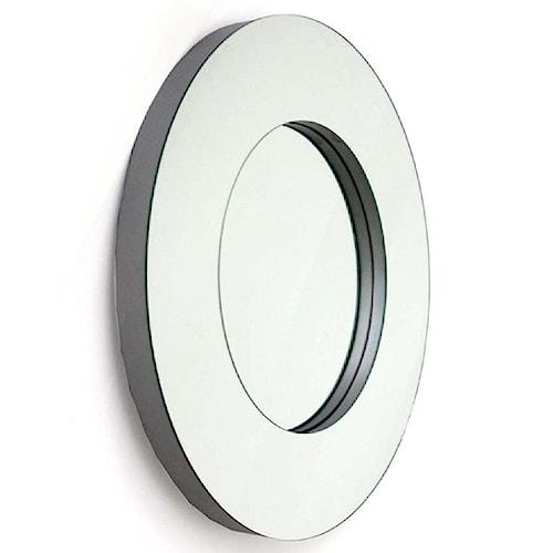 Decor-Rest Accent on Home Mirrors Ornella Round Wall Mirror