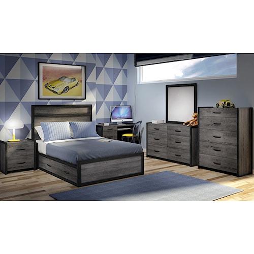 Defehr 538 Twin Bedroom Group