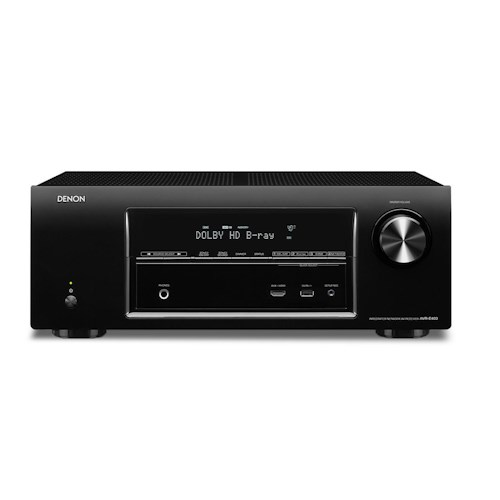 Denon AV Receivers 7.1 Channel 3D Pass Through Home Theater Receiver with AirPlay and IN-Command Networking