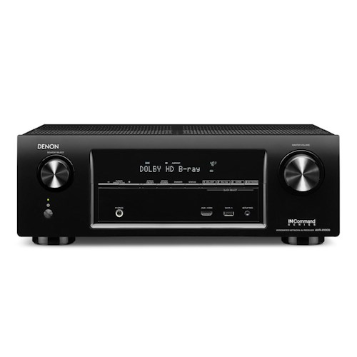 Denon AV Receivers 5.1 Channel 3D Pass Through Home Theater Receiver with AirPlay and IN-Command Networking