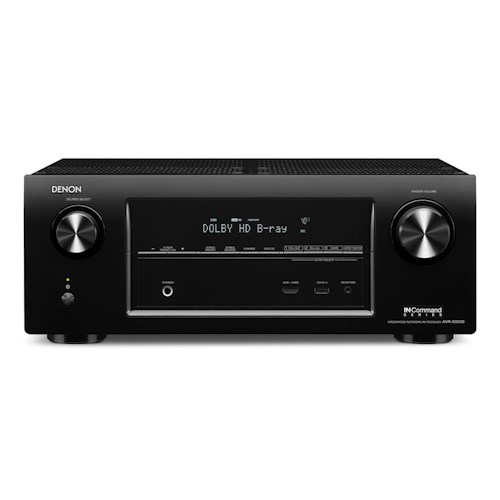 Denon AV Receivers 7.2 Network Home Theater AV Receiver with IN-Command Control Sophistication
