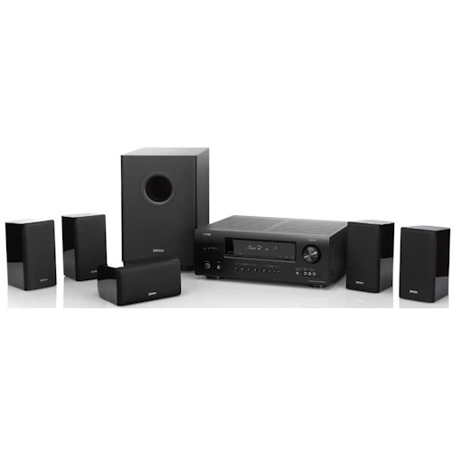 Denon Home Theater Systems 5.1 Channel 3D Ready Home Theater System