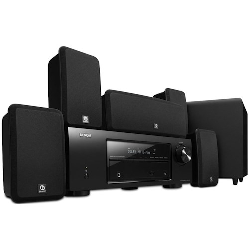 Denon Home Theater Systems 5.1 Channel Home Theater System with Boston Acoustics Premium Speaker System