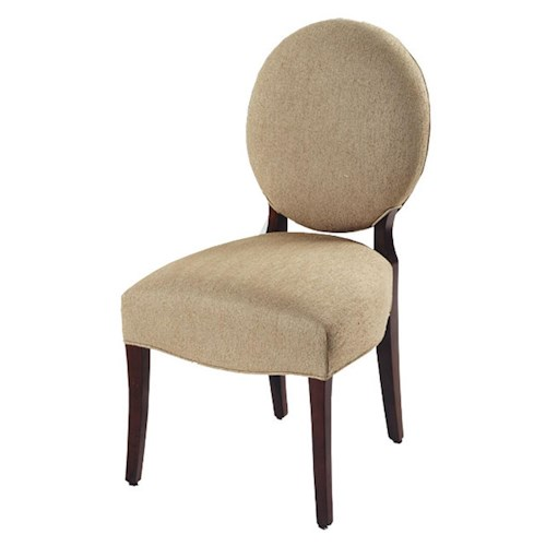 Designmaster Chairs  Fairmont Oval Back Side Chair
