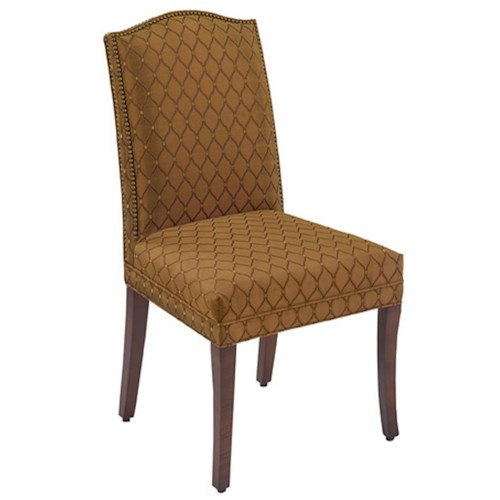 Designmaster Chairs  Lynchburg Nail Head Trim Side Chair