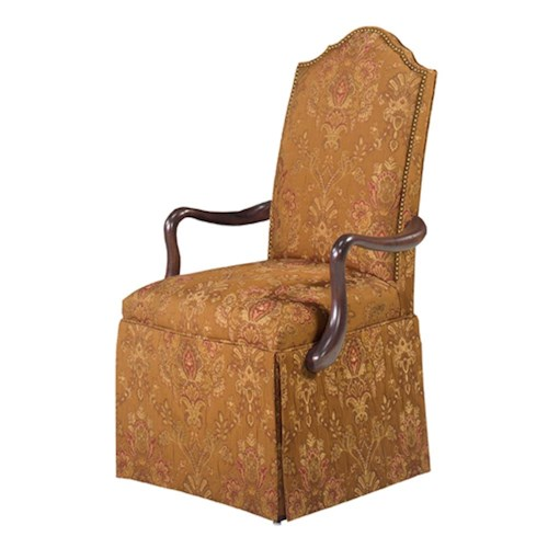 Designmaster Chairs  Arcadia Upholstered Arm Chair