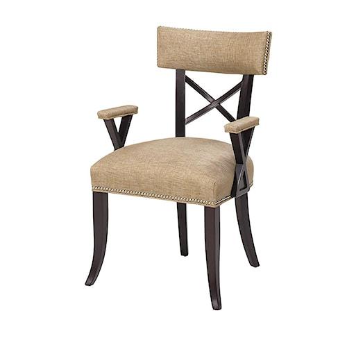 Designmaster Chairs  Dahlia X Back Arm Chair