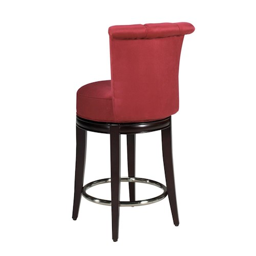 Designmaster Dining Stools Seneca Channel Back Counter Height Stool